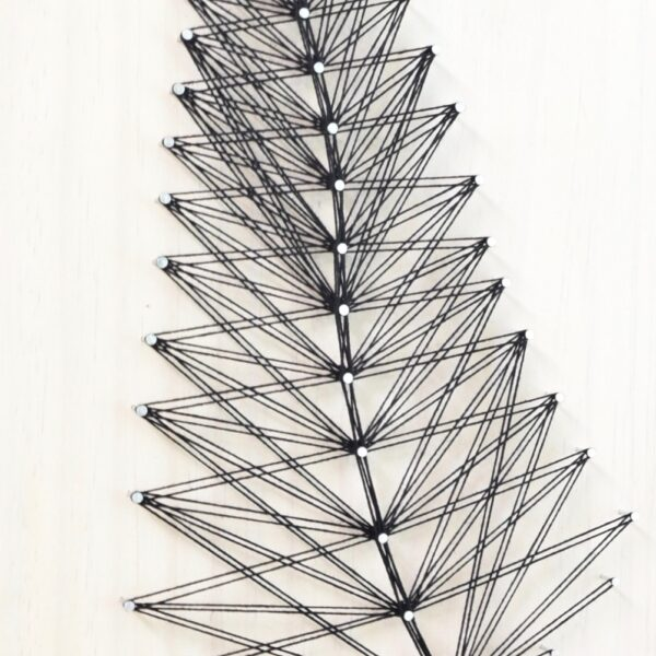 String Art Leaf