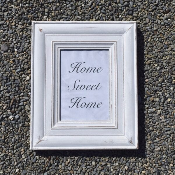 Home Decor Upcycled Frame